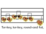 """Turkey, Turkey"" - a Mi, Sol, and La song for elementary singers"