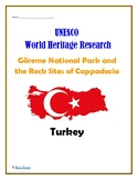 (Middle East GEOGRAPHY) Turkey UNESCO World Heritage Sites Project BUNDLE
