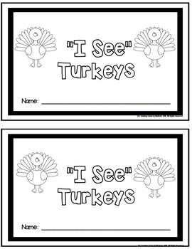 Turkey Unit: Activities & Centers