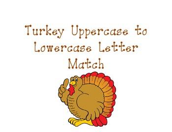 Turkey Uppercase to Lowercase Letter Match