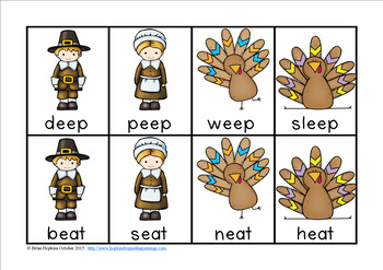 Turkey Vowel Pairs Race