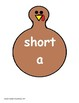 Turkey Vowel Sort Short A and Long A
