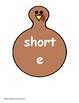 Turkey Vowel Sort Short E and Long E