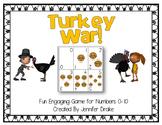 Turkey War!  Numbers 0-10