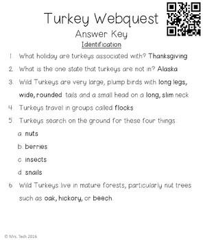 Turkey Webquest