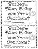 Turkey, What Color are Your Feathers?  (patterns)