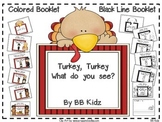 Turkey What do you see? Booklet on Thanksgiving, Indians,