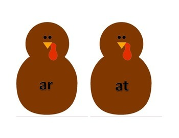 Turkey Word Families