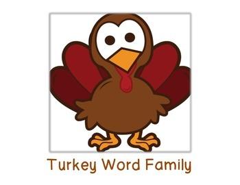 Turkey Word Family