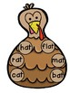 Thanksgiving Word Family Craft - at words