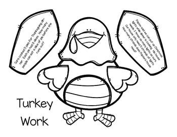 Turkey Word Problems Craftivity