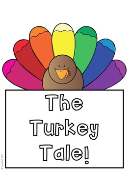 Turkey Writing Craftivity - Use with any Thanksgiving book or use the prompt!