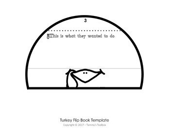 Turkey Writing Activity Book