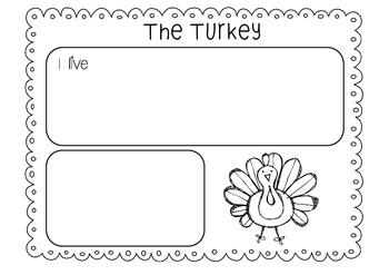 Turkey Writing - Freebie