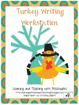 Turkey Writing Workstation Prompt