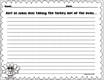 Turkey Writing and Craftivity