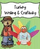 Turkey Writing & Craftivity - November memory book prompt