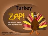Thanksgiving Turkey ZAP! Nouns, Verbs, and Adjectives