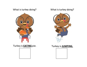 Turkey actions activity pack