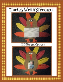 Turkey and Placemat Writing Craftivity