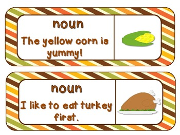 Turkey and Trimmings: 6 Literacy Centers