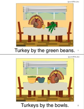 Turkey by the Cornbread:  An Interactive Rhyming Book
