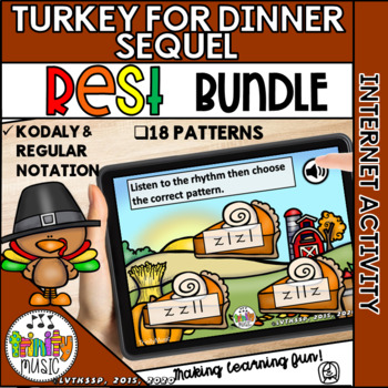 Turkey for Dinner: The Sequel (Quarter Rest) Interactive Game