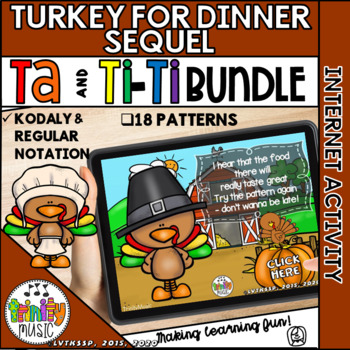 Turkey for Dinner: The Sequel (Ta and Ti-Ti) Interactive Game