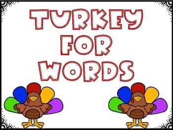 Turkey for cvc words