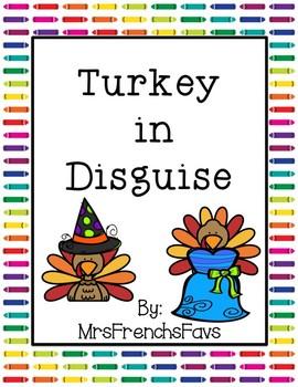 Turkey in Disguise Activity