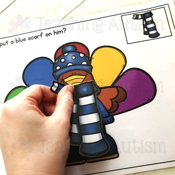 Turkey in Disguise Autism Adapted Books for Special Education