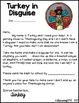 Turkey in Disguise - Craft, Art project, Writing Activity and more!