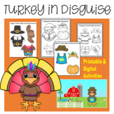 Turkey in Disguise Digital and Printable Activity
