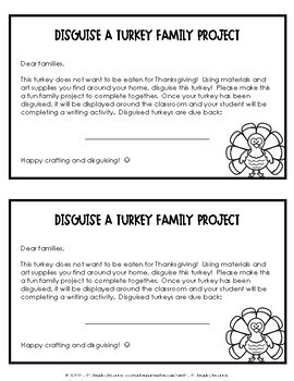 Turkey in Disguise {Family Project}