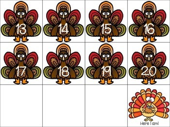 Turkey in Disguise Number Game