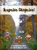 Turkey in Disguise (Surprise Disguise) Thanksgiving Craft