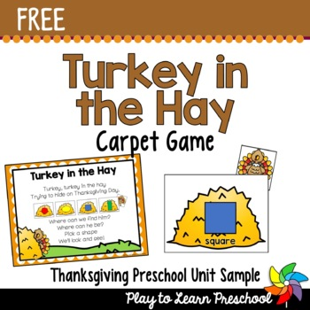 Thanksgiving Game - FREE!