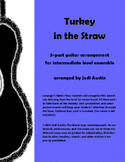 Turkey in the Straw (sheet music for intermediate guitar e
