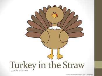 Turkey in the Straw--illustrated dance instructions