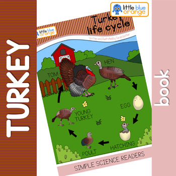 Turkey life cycle  book