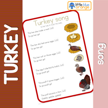 Turkey life cycle song