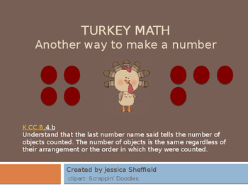 Turkey math: another way to make a number