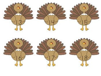 Turkey numbers!