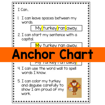 Thanksgiving Activities - Turkey Craft and Writing Pack