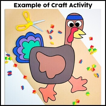 Turkey on the Run Craft