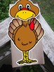 Turkey paper bag puppet template