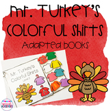 Turkey's Colorful Shirts (Thanksgiving Adapted Books)