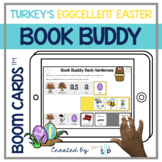 Turkey's Eggcellent Easter Book Companion | Boom Cards™️ D