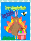 Turkey's Eggcellent Easter  --  Graphing, Sequencing, Story Maps, and More!