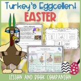 Turkey's Eggcellent Easter Lesson Plan and Book Companion